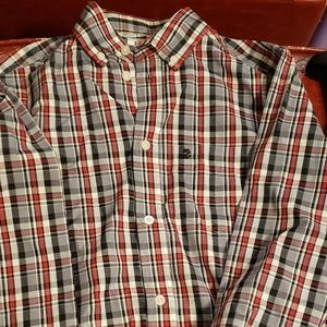 Boys button down shirt sized 14/16